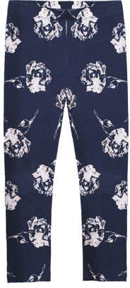Imoga Rose-Print Stretch Leggings, Size 2-6