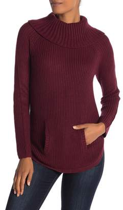 Love by Design Ribbed Cowl Neck