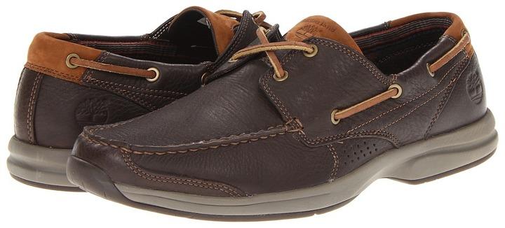 Timberland Earthkeepers Hulls Cove (Dark Brown) - Footwear