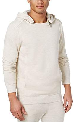 GUESS Men's French Terry Moto Hoodie