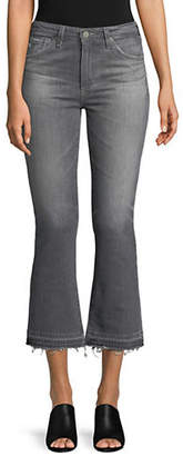 AG Jeans Jodi High-Rise Crop Ripped Jeans