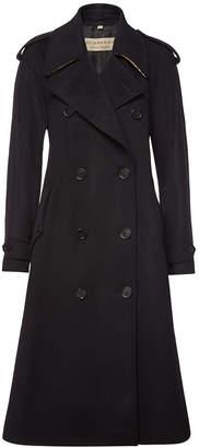 Burberry Kilbirnie Wool Coat with Cashmere