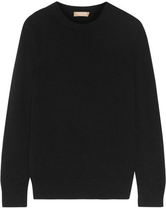 Michael Kors Collection - Cashmere Sweater - Black $895 thestylecure.com