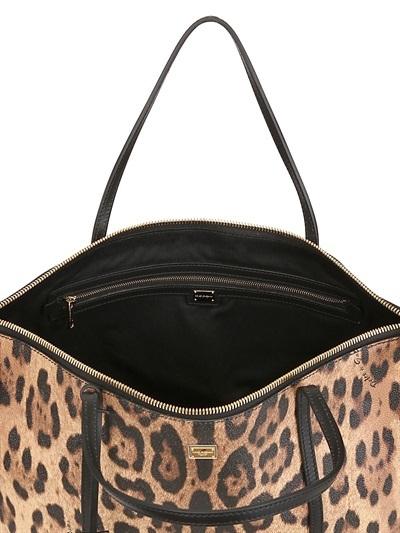 Dolce & Gabbana Escape Leopard Print Tote Bag