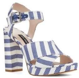 Nine West Jimar Ankle-Strap Platform Sandals