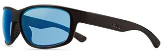 Revo Baseliner RE 1006 01 BL Polarized Wrap Sunglasses, Matte Black/Blue Water, 61 mm $189 thestylecure.com
