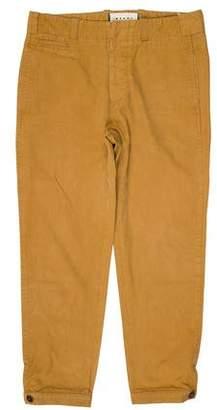 Marni Cropped Flat Front Pants