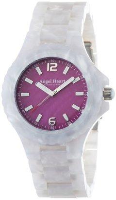 Angel Heart (エンジェル ハート) - [エンジェルハート]Angel Heart 腕時計 ブラックレーベル ピンクパール文字盤 アセテートケース アセテートベルト BK38WHP レディース
