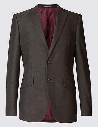 Marks and Spencer Big & Tall Charcoal Tailored Fit Jacket