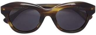 Linda Farrow Dries Van Noten x round shaped sunglasses