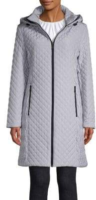 BCBGeneration Quilted Long-Sleeve Jacket