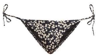 Matteau - The String Bikini Briefs - Womens - Black Navy