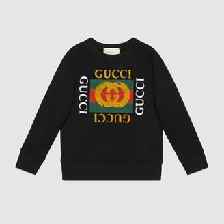 Gucci (グッチ) - 〔チルドレン〕オンライン限定 グッチ ヴィンテージロゴ スウェットシャツ