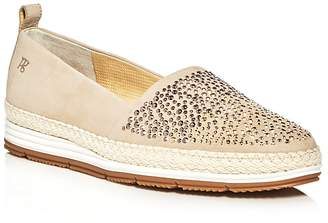 Paul Green Lourdes Embellished Espadrille Platform Loafers $299 thestylecure.com