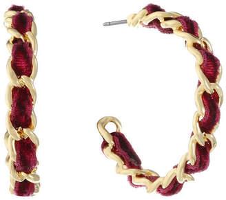 Liz Claiborne 27mm Hoop Earrings