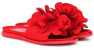 Simone Rocha Flower embellished slides
