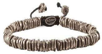 M. Cohen Oxidized Silver Discs Bracelet