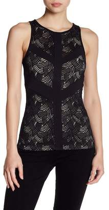 Tart Cut Out Lace Racerback Shirt