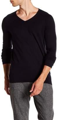 BOSS Long Sleeve V-Neck Sweater
