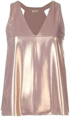 1ebd03506db62 Metallic Gold Tank Top - ShopStyle