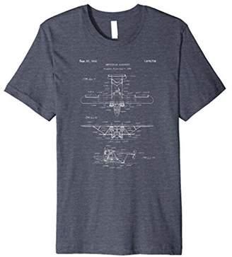 Retro Seaplane Tee Shirt - Amphibian Sea Plane Airplane Tee