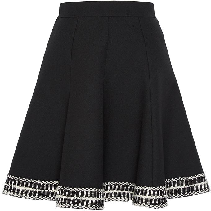 Andrew GnAndrew Gn A-Line Mini Skirt