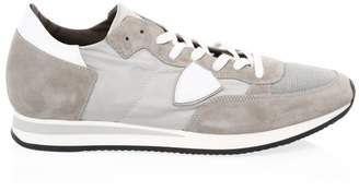 Philippe Model Suede Lace-Up Sneakers