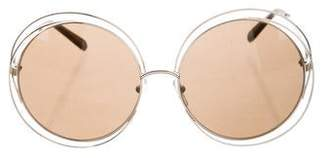 Chloé Carlina Oversize Sunglasses w/ Tags