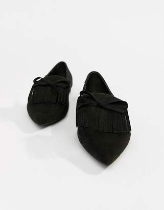 Asos DESIGN Lorrie loafer ballet