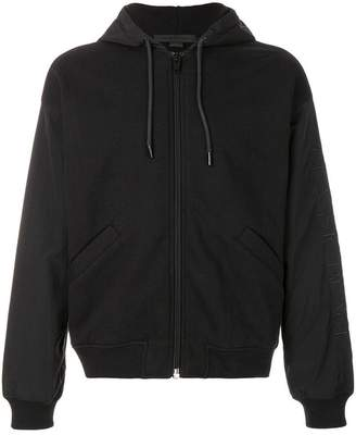 Alexander Wang boxy hooded jacket