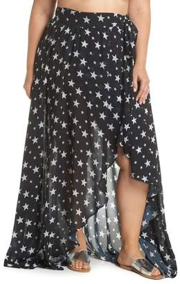 ALPINE BUTTERFLY Cannes Cover-Up Skirt