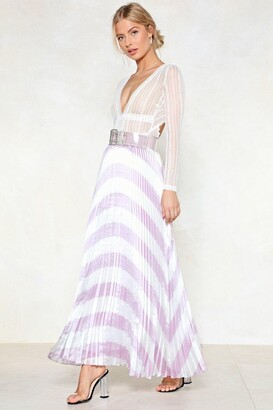 Nasty Gal You're Chevron in a Million Maxi Skirt