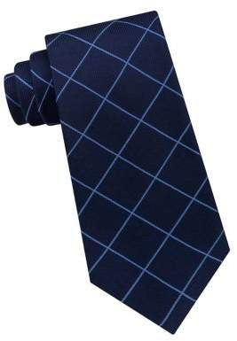 Lord & Taylor The Mens Shop Grid Silk Tie