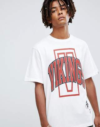 Billionaire Boys Club vikings t-shirt in white