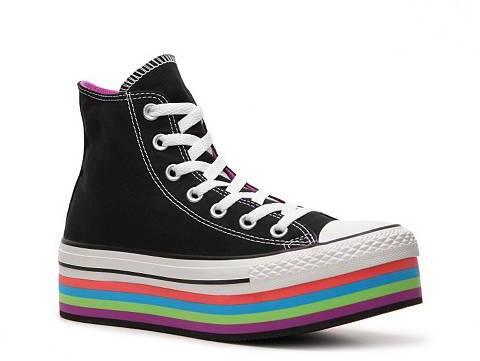 Converse Chuck Taylor All Star Platform High-Top Sneaker - Womens