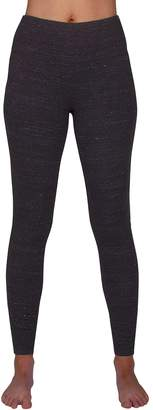 Spalding Women's Cotton High Waist Heathered Legging