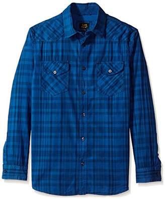 Lee Men's L/Sleeve Button Down Shirt