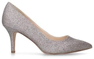 Nine West Pink 'Flagship 75' Metallic Court Shoes