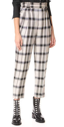 3.1 Phillip Lim Check Pants with Side Ties $495 thestylecure.com