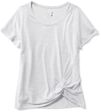 Go-Dry Side-Knot Tee for Girls $16.99 thestylecure.com