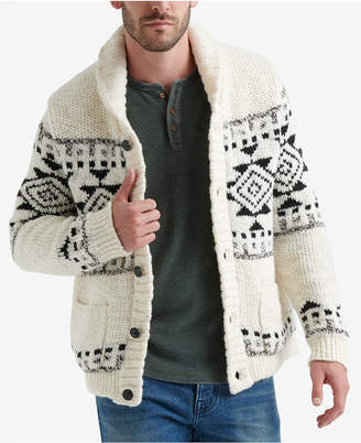 Lucky Brand Men's Shawl-Collar Cardigan