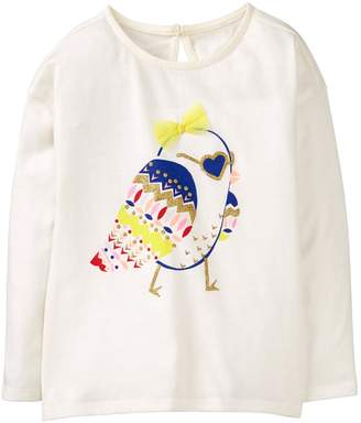 Crazy 8 Crazy8 Sparkle Bird Tee