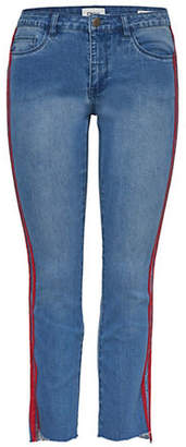 Only Sport Stripe Denim Jeans