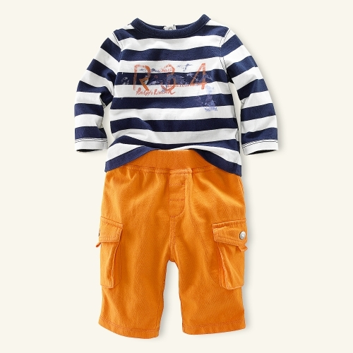 Graphic Rugby Pant Set