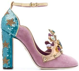 Dolce & Gabbana crown front pumps
