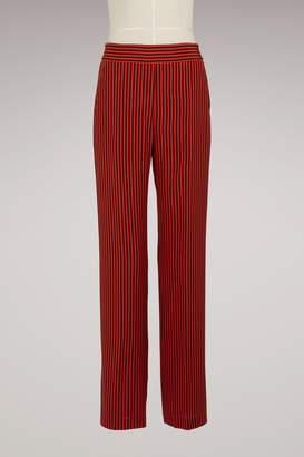 Etro Silk Pajama Pants
