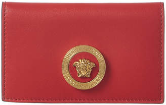 Versace Medusa Leather Card Wallet