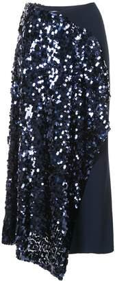 Roland Mouret Kells sequin embroidery skirt