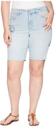 NYDJ Plus Size Plus Size Briella Shorts Dream Blossom in Palm Desert Women's Shorts