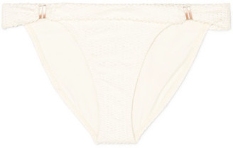 Vix Scales Bia Tube Laser-cut Bikini Briefs - Off-white
